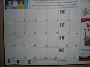 Calendário do Lixo 2
