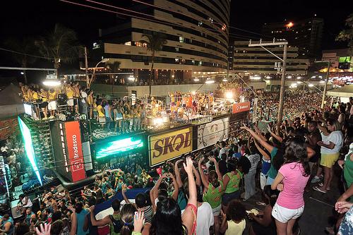 Carnaval em Salvador 2013.