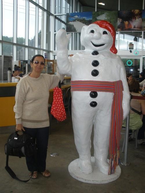 Montmorency - Mascote de Québec.