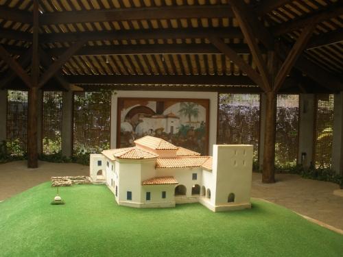 Parque Histórico Garcia D´Ávila - como era o castelo.