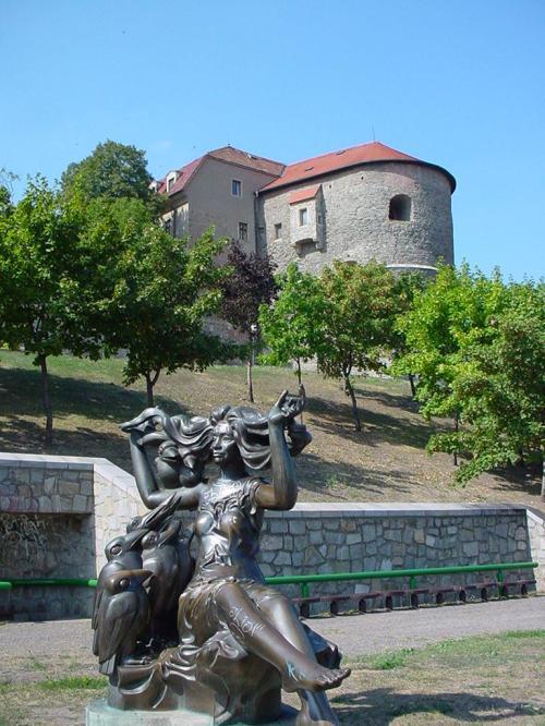 Approaching Bratislava Castle