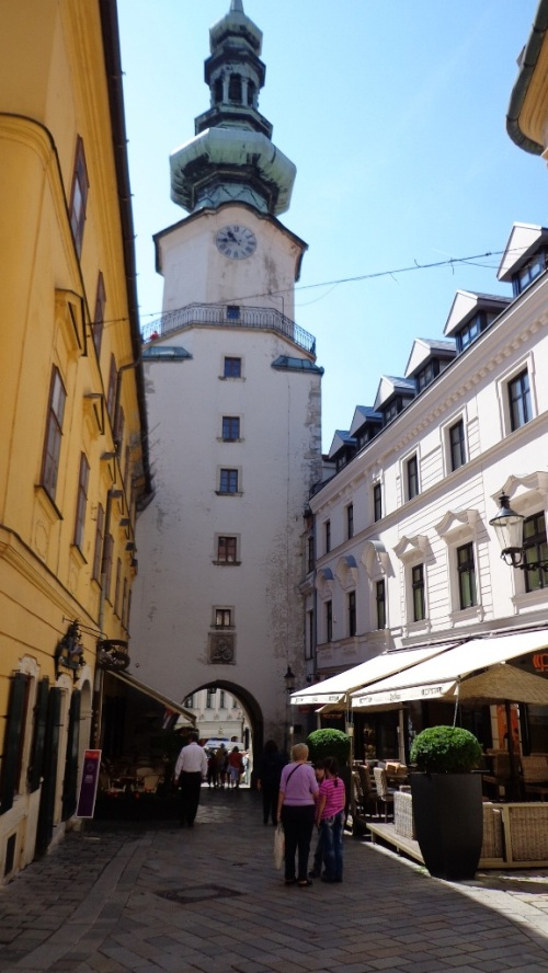 Porta de São Miguel  (Michalská brána) - Bratislava.