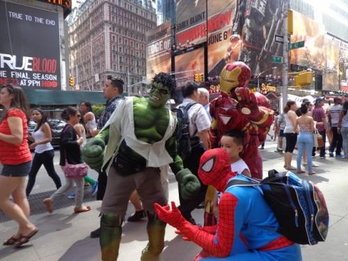 Os Super Heróis!